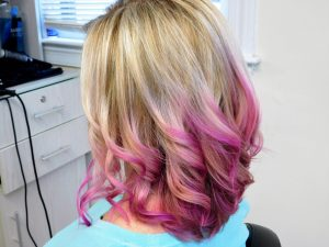 Pink Ombre by Christina